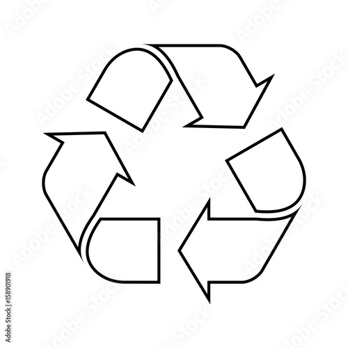 Obraz Recycle symbol - fototapety do salonu
