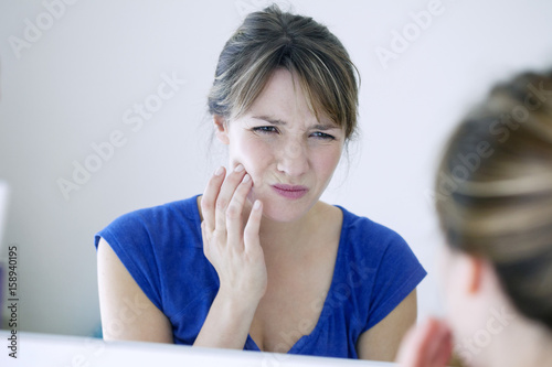 Fotografia  Woman with toothache