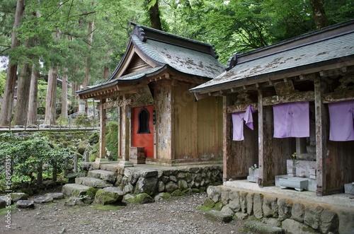 Fototapeta 福井県の有名な寺の永平寺