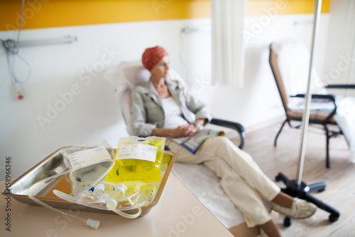 Fotografie, Obraz  Ambulatory chemotherapy