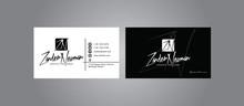 Modern Business Card, Print-ready,CMYK