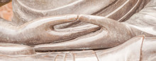Detail Of Buddha Statue With D...