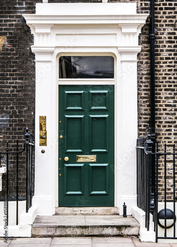 Fototapeta drzwi   bloomsbury-door-in-london-england