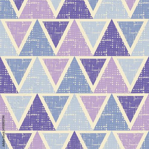 Tapeta ścienna na wymiar Geometryczne kolorowe trójkąty