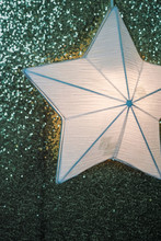 Paper Star Bulb Light