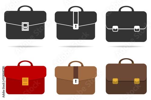 Retro briefcase Canvas Print