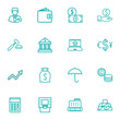 Set Of 16 Budget Outline Icons Set.Collection Of Exchange, Moneybag, Businessman And Other Elements.