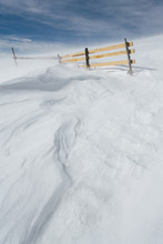 Wooden Fence On Mountain Cover...
