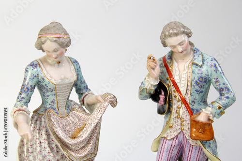 Fotografie, Obraz  Antique Meissen