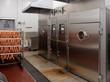 Smoking chambers on food processing plant