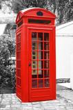 Fototapeta Londyn - Czerwono mi