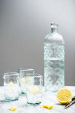 Vodka Lemon On The Rocks