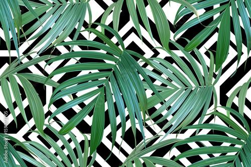 frond-palmowy-wektor-wzor-tropikalny-lisci-tlo-lisci-bananowych-egzotyczny
