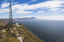 Cape Point View Over Sea, South Africa