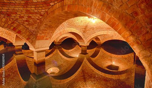 Brick, underground water tanks 4