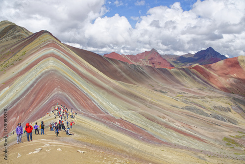 Poster Rainbow Mountain