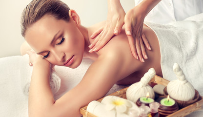 Massage and body  care. Spa...