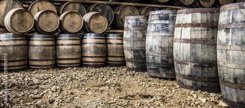 Photo Glenbeg, Ardnamurchan / Scotland - May 26 2017 : Ardnamurchan distillery is prod