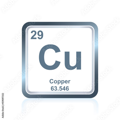 Chemical Element Copper From The Periodic Table Buy This Stock