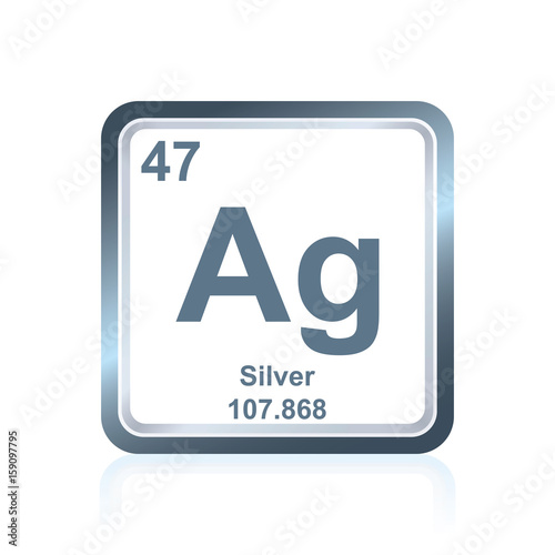 Chemical Element Silver From The Periodic Table Buy This Stock