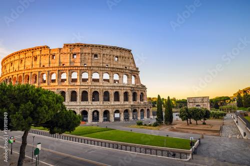 Zdjęcie XXL Rzym Koloseum (Roma Coliseum), Rzym, Włochy
