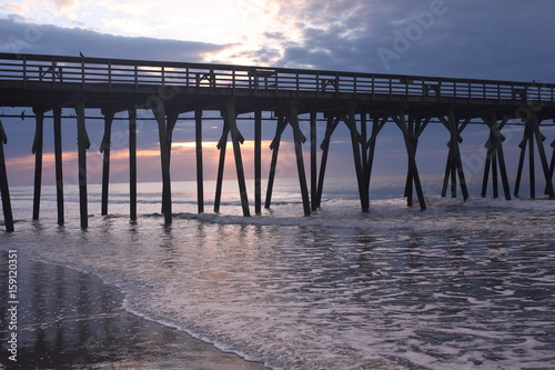 Morning Light through the pier