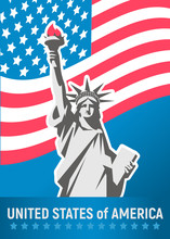 Statue Of Liberty. New York La...