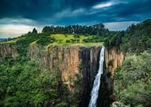 The Howick Waterfall At Howick In KwaZulu-Natal