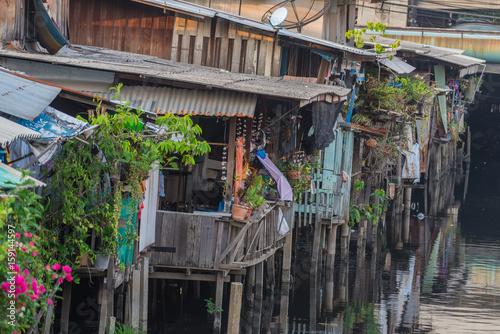 In de dag Chicago Life in the slums of Bangkok,Thailand