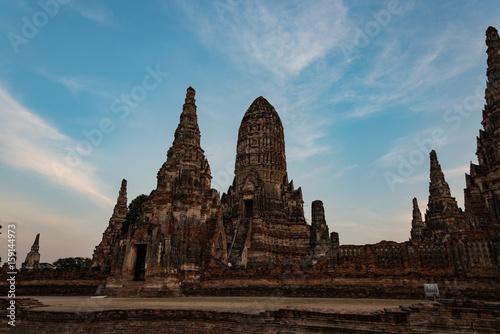 タイ・アユタヤ遺跡・ワット・チャイワッタナーラーム