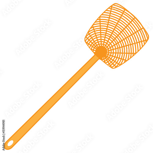 Classic plastic fly swatter Wall mural
