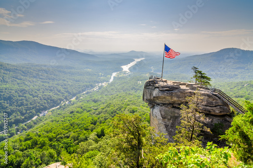 Chimney Rock State Park Canvas Print