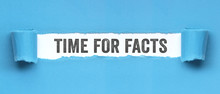 Time For Facts / Papier