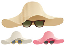 Floppy Hat Sunglasses