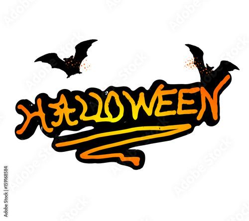 Photo logo Halloween