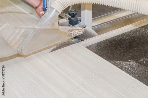 Foto op Plexiglas Trappen Production of cabinet furniture