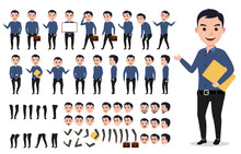 Businessman Or Male Vector Cha...
