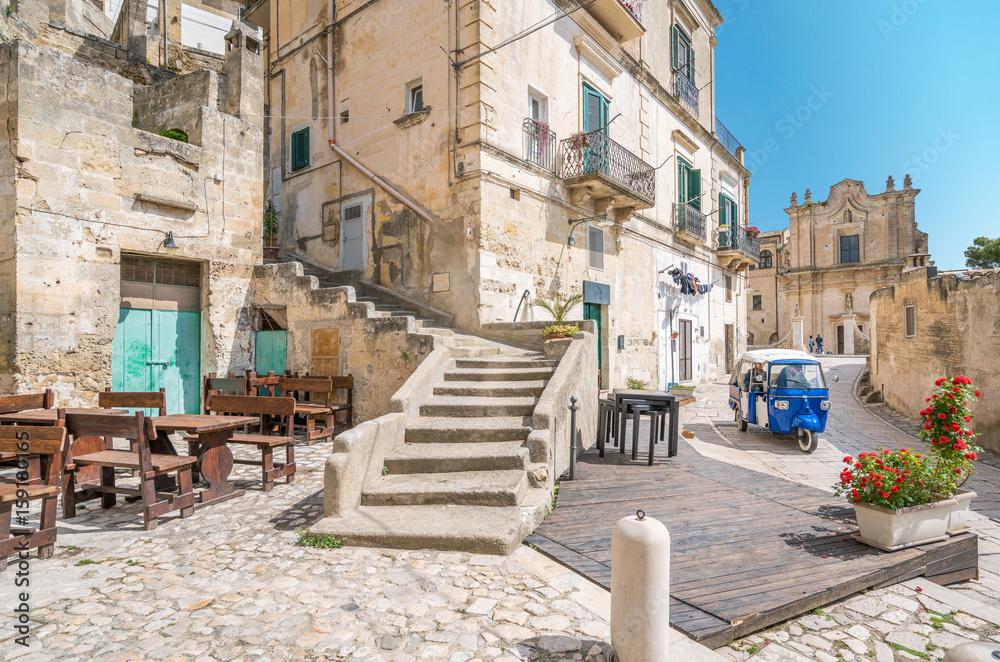Fototapety, obrazy: Scenic sight in Matera, Basilicata, southern Italy