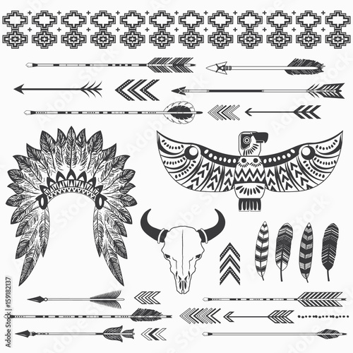 Photo  Tribal Indian Ethnicity Collections