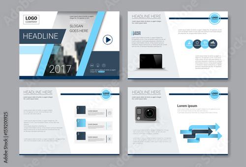 Fotografía  Template Design Brochure, Annual Report, Magazine, Poster, Corporate Presentatio