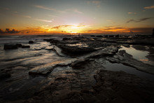 Sunrise Of Moffat Beach, Queen...