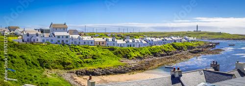 Cuadros en Lienzo Panorama of Portnahaven, Isle of Islay, Scotland