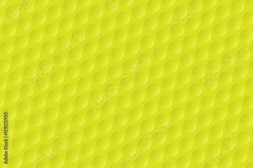 Valokuvatapetti Yellow golf ball texture background