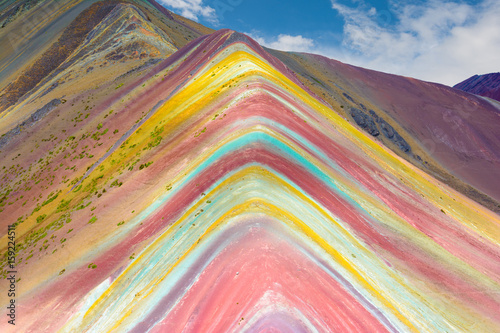 Poster Vinicunca or Rainbow Mountain,Pitumarca-Peru