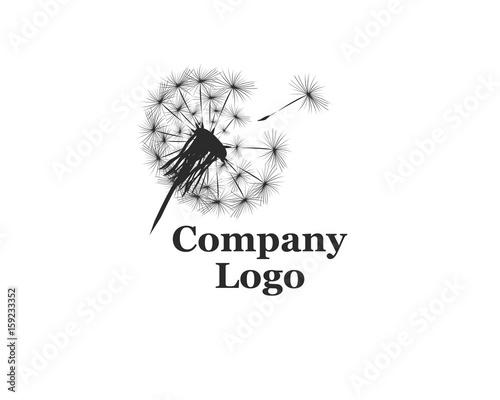 Company Logo with dandelion