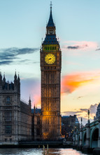 Big Ben, London, UK. A View Of...