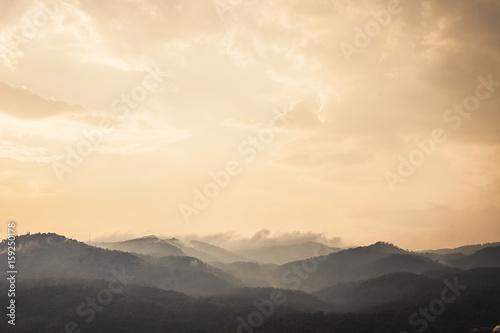 Printed kitchen splashbacks Beige Mountains in Chiang Main, Thailand