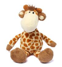 Toy Giraffe Isolated On White Background