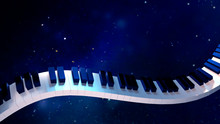 3d Rendering Picture Of Piano ...