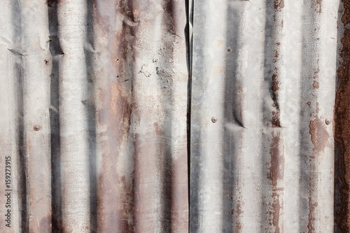 Aluminium Prints Firewood texture Galvanized metal texture